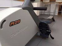 Rowing machine - Tunturi R25 Folding Magnetic Rower. Great workout - excellent condition!
