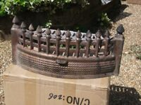 Fire Basket frontage - hold coal/wood into fire basket