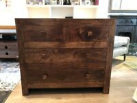 Dakota mango dressing chest 4 drawers