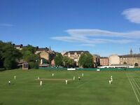 Modern 3 bed flat with 2 showers, sitting, dining, kitchen looking onto Partick cricket green. West
