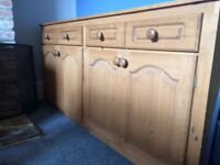 Solid wood hand-made dresser kitchen chest drawers