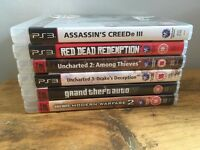 6 x PS3 Playstation Games - All complete and in good condition - £9 total