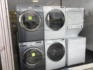 ECONOPLUS LIQUIDATION SALE ON A  SELECTION OF FRONTLOAD STACKABLE WASHER DRYER SETS FROM  999.99 $ TX INCL