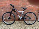 Ladies Apollo full suspension mountain bike