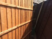 6ftwide x5ft high brand new fence panel