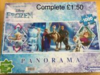 Frozen 1000 piece Jigsaw