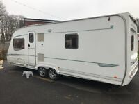 Abbey Spectrum 540 TWIN AXLE 2005 Fixed Bed 4 berth £7595