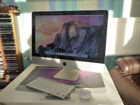 Apple iMac 21.5 screen, 2011 model, 500gb.