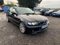 BMW 330d M SPORT E46 MANUAL **P/X WELCOME**