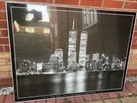 Picture of twin towers New York