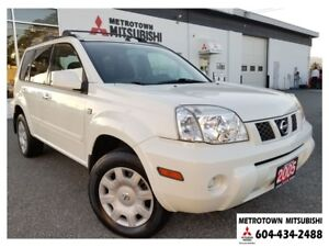 2005 Nissan X-Trail XE 4WD; Manual transmission!