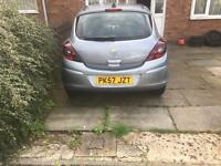 Vauxall corsa Low mileage 56k With new timing chain