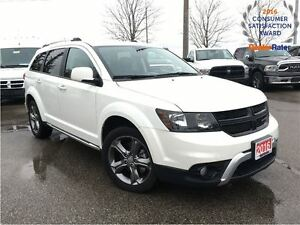 2016 Dodge Journey CROSSROAD AWD**LEATHER**POWER SUNROOF**