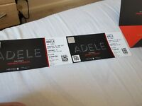 2 adele tickets pitch standing £250