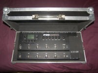 Hard Case / Pedal Board for Line6 POD HD500X , X3 Live , XT Live , Digitech , KORG , BOSS