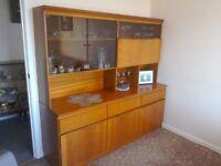 Display Unit in wood veneer