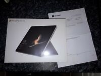 MICROSOFT Surface Go 64GB, Silver, Windows 10 S, 4415Y Processor, RAM 4GB --- BRAND NEW SEALED