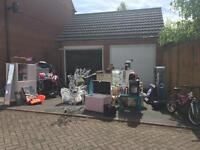 House clearance and garage sale