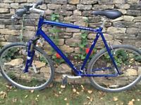 Ridgeback Men's hybrid bike. 58cm / 23 inch frame (XL). Light use. New was £449