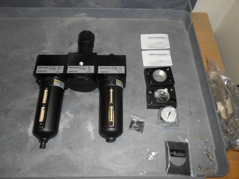 Jupiter Pneumatics 16500150JP Heavy Duty Filter Regulator Lubricator