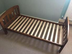 John Lewis cot bed and matching drawers