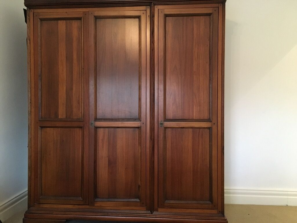 Willis And Gambier Louis Philippe Triple Wardrobe In