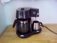 Morphy Richards coffee machine with milk frothed £30 ono