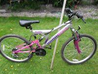 concept 24in wheel girls bike 18 gears