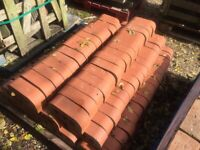 RED WALL COPING BRICKS X139 AT £3.00 EACH OR £350 THE LOT