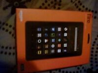 Brand new unopened 7inch black amazon fire tablet