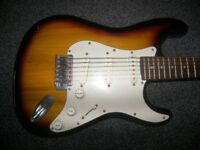 Encore Fender Squier Stratocaster Style Electric Guitar.