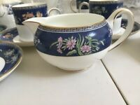Wedgwood Blue Siam coffee Set, perfect condition.