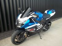 2014 Suzuki GSXR L4 LOW MILES May Px / Swap