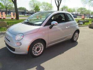 2014 Fiat 500 Lounge*FULLY LOADED*VERY LOW KM'S