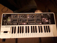 Roland Gaia synthesizer SH-01 Perfect working order. Very few marks, if any.