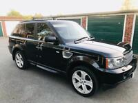 2007 RANGE ROVER SPORT HSE 2.7TDV6,FULLY LOADED,PRIVATE PLATE