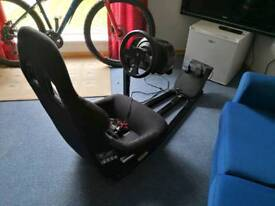 Thrustmaster with seat