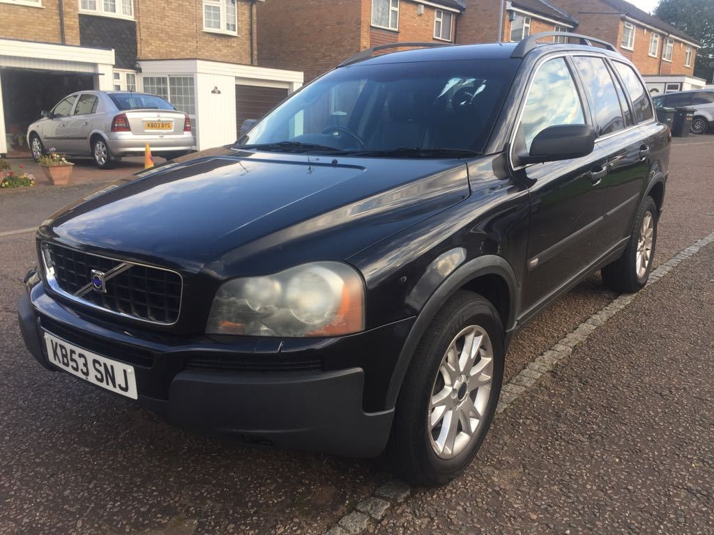 2004 VOLVO XC90 2.4 D5 TURBO DIESEL BREAKING FOR PARTS BODY PANEL DIFF TRANSFER