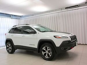 2016 Jeep Cherokee TRAIL HAWK 4x4 SUV w/ BLUETOOTH, BACK-UP CAM