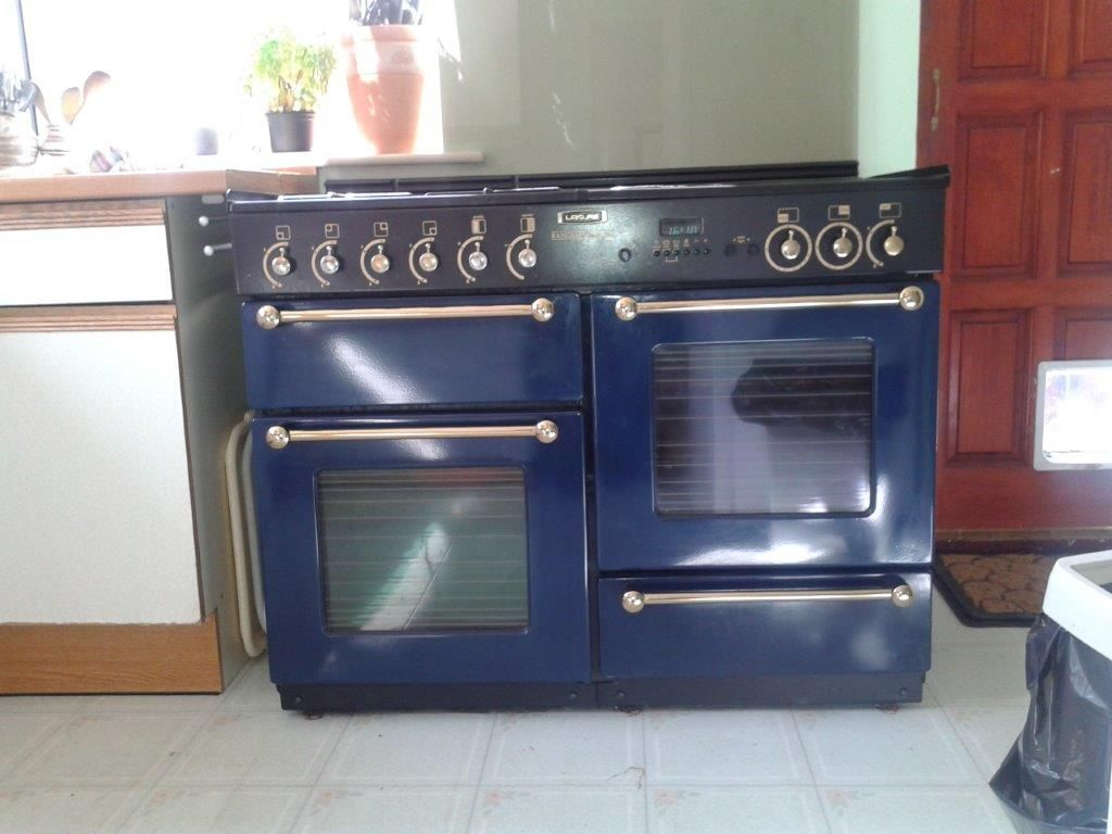 Leisure Rangemaster 110 Double Oven 5 Gas Burner Grill
