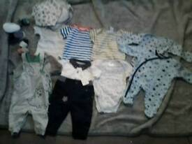 Joblot of baby clothes