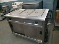 commercial lincat hot cupboard bain marie carvery unit catering equipment