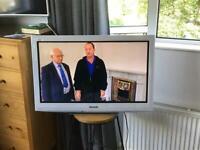 32 inch Panasonic TV white frame