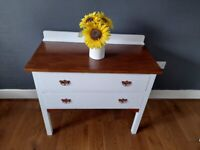 Vintage chest of drawers solid oak