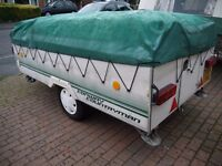FOLDING CAMPER WANTED- PENNINE< CONWAY< TRIGANO