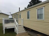 Luxury 8 berth caravan for holiday rentals