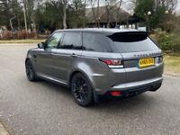 2015 Land Rover Range Rover Sport 5.0 SVR 550 BHP
