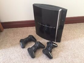 Playstation 3 + lots of extras and games