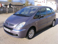 2005 CITROEN XSARA PICASSO, ONLY 57,9K,SERVICE DONE,5 MONTHS MOT,GREAT FAMILY CAR,NO RUST