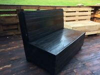 Furniture from wood palettes